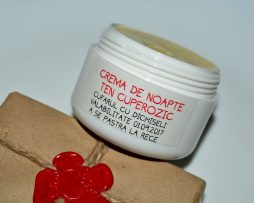 Creme naturale pentru tratarea tenului afectat de roseata si cuperoza.