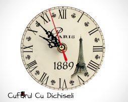 Ceas de masa vintage, mecanism quartz