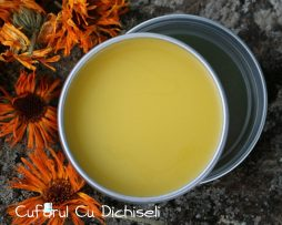 Crema tratament cuperoza, ingrediente 100% naturale.