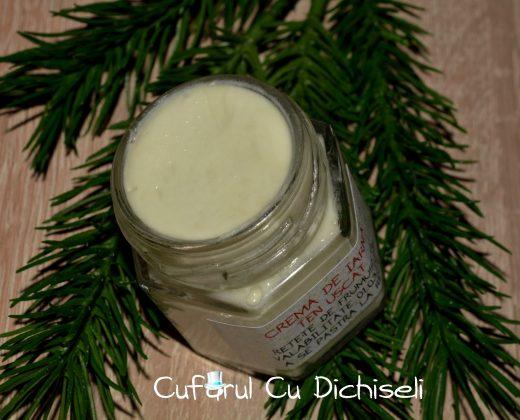 Crema de iarna ten uscat, nutritiva, hidratanta si protectoare