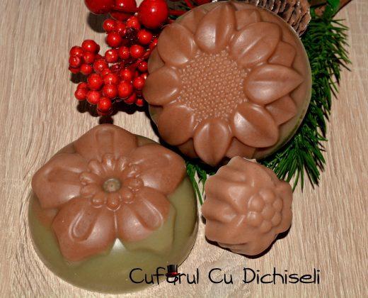 Sapun cu argila rosie si argila verde, special pentru ingrijirea tenuluigras