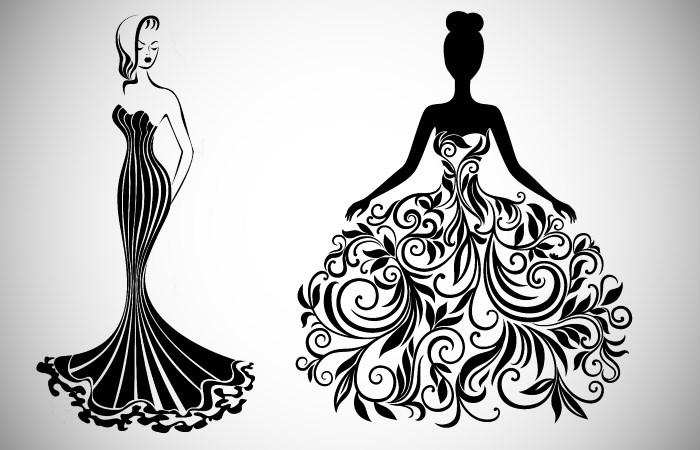 Idei de asortat rochiei negre de seara