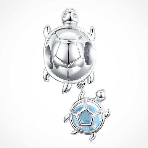 talisman argint broască țestoasă