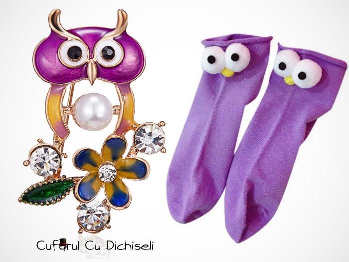 Cadouri cu bufnițe, decorațiuni bufniță, bijuterii bufniță. Cadouri prietenoase și colorate!