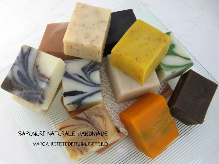 săpunuri naturale făcute în casă
