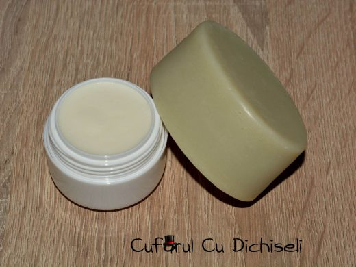 Sapun de barbierit si crema calmanta dupa ras, ingrediente 100% naturale