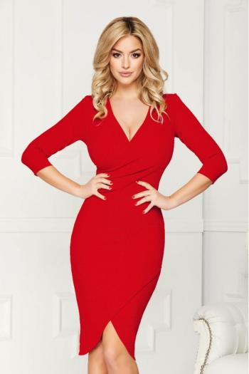 accesorii rochie roșie