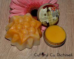 Cosmetice naturale cu ulei de catina, sapun natural si unguent cu catina