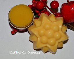 Pachet sapun natural cu galbenele si unguent cu galbenele
