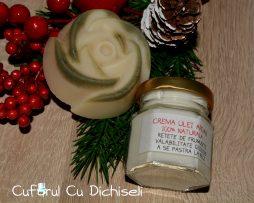 Pachet crema de fata cu ulei argan si sapun natural hidratant.