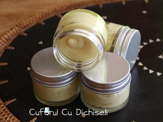Crema pentru cicatrici, ingrediente 100% naturale, actiune cicatrizanta si emolienta