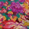 Esarfa colorata cu flori