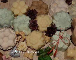 Martisoare din sapun pregatit la rece, ingrediente 100% naturale