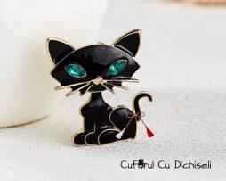 Martisor brosa pandantiv pisica