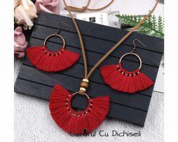 Seturi bijuterii handmade, diverse culori