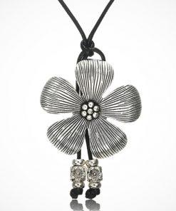 Colier cu pandantiv floarea soarelui