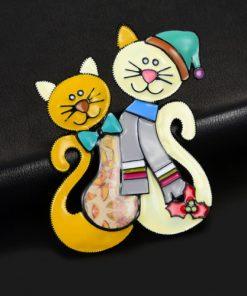 broșă pisică