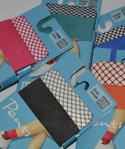 Set șosete plasă colorate