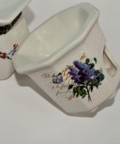 Suport lumânare aromaterapie din ceramică
