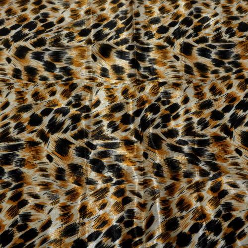 Eșarfe leopard din satin