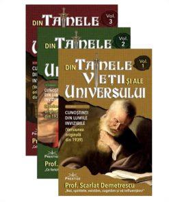 """""""Din tainele vieții și ale universului"""" - Prof. Scarlat Demetrescu"""