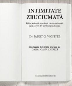 """Intimitate zbuciumată"" - Janet G. Woititz"