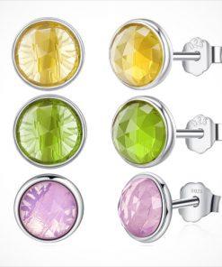 cercei argint cristale