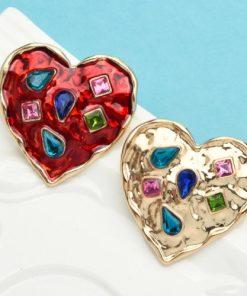 broșă inimă